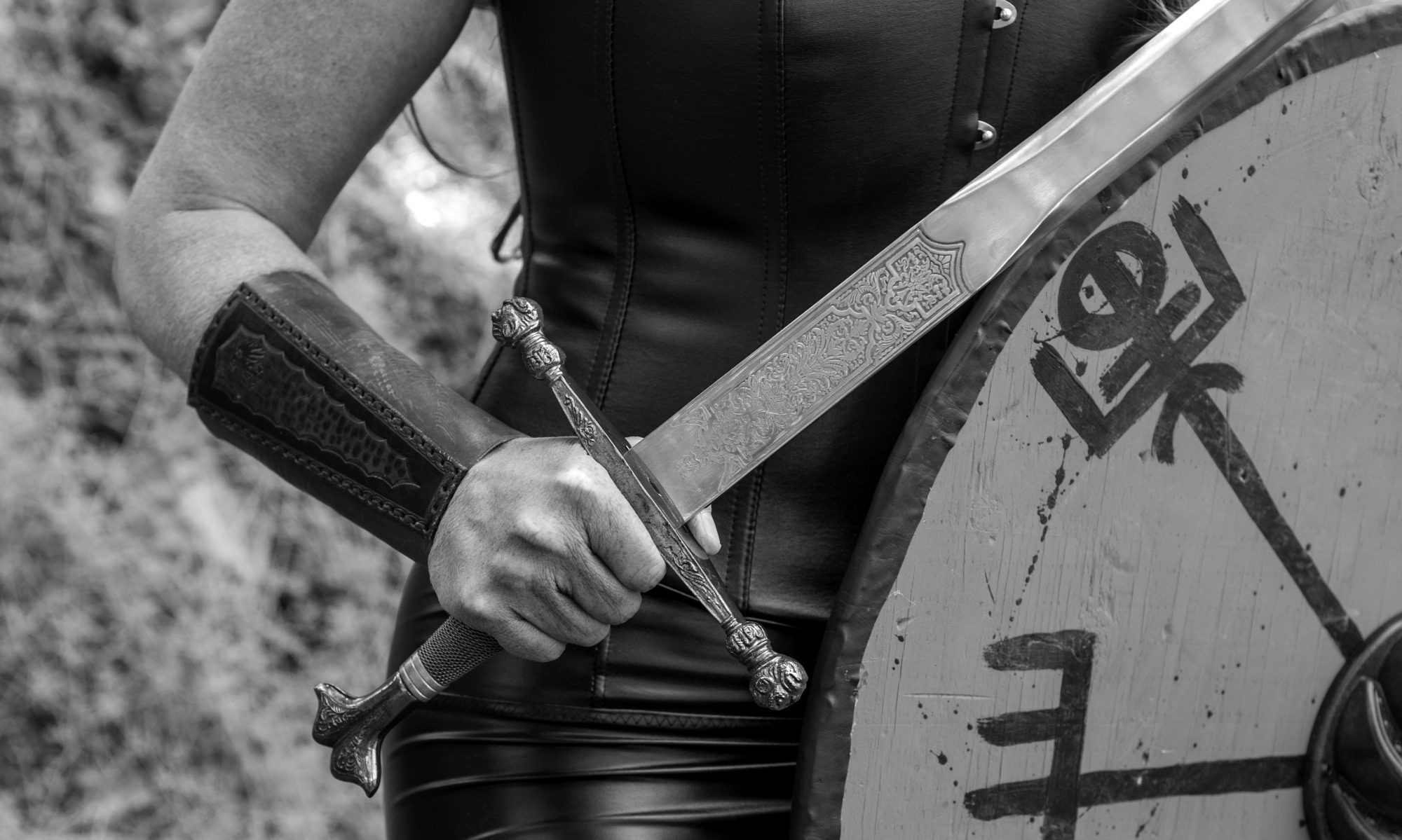 Shield Maiden Play - Viking Woman Warrior