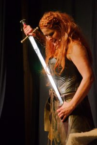 Shield Maiden Play, melanie Teichroeb, New York City, United Solo, Canadian Actress