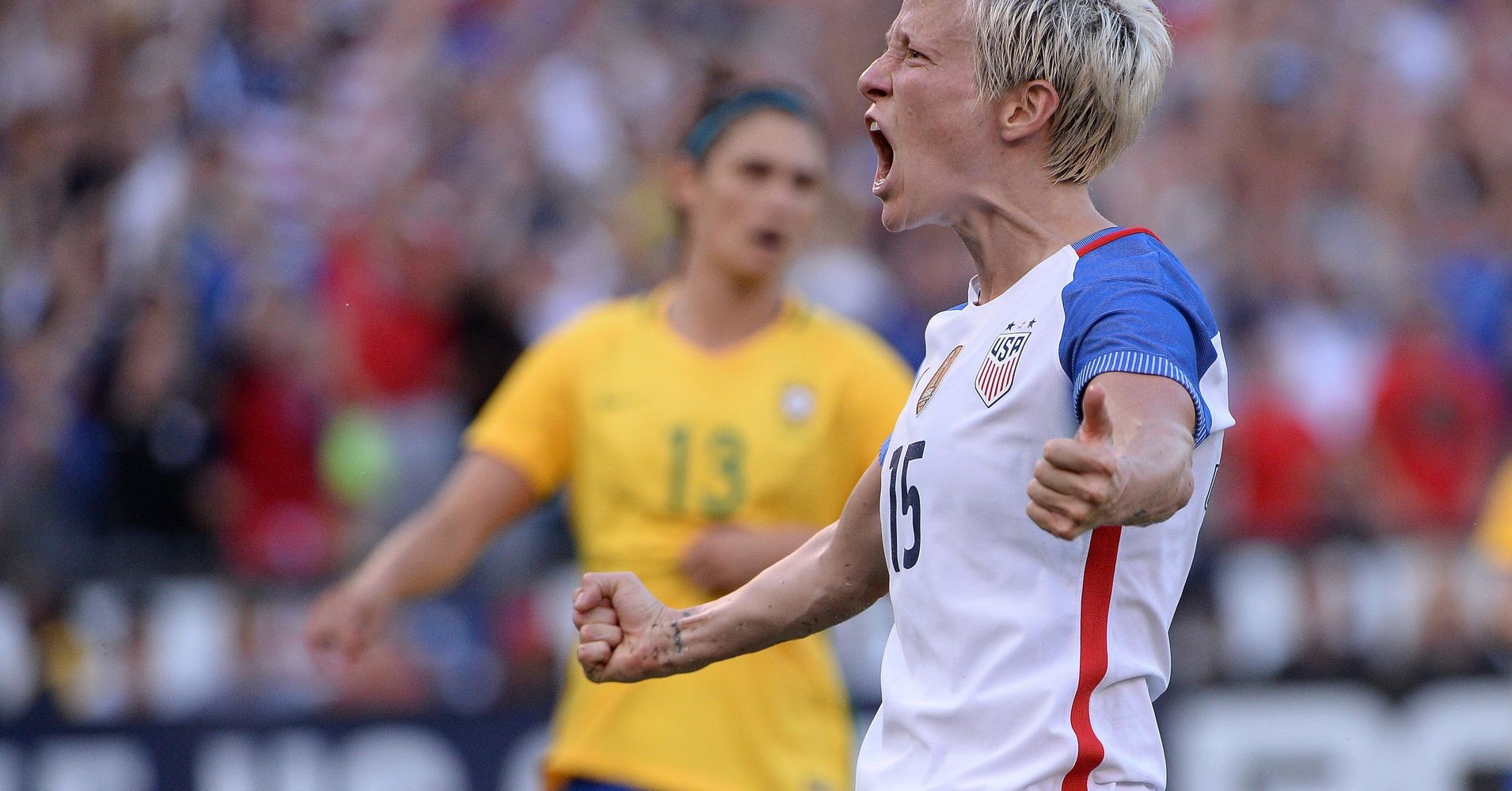 Megan Rapinoe, FIFA, woman warrior, warrior, shield maiden, viking warrior, viking warrior woman, dixie chicks, not ready to make nice, feminist, female athletes, world cup soccer, not ready to make nice, us soccer,