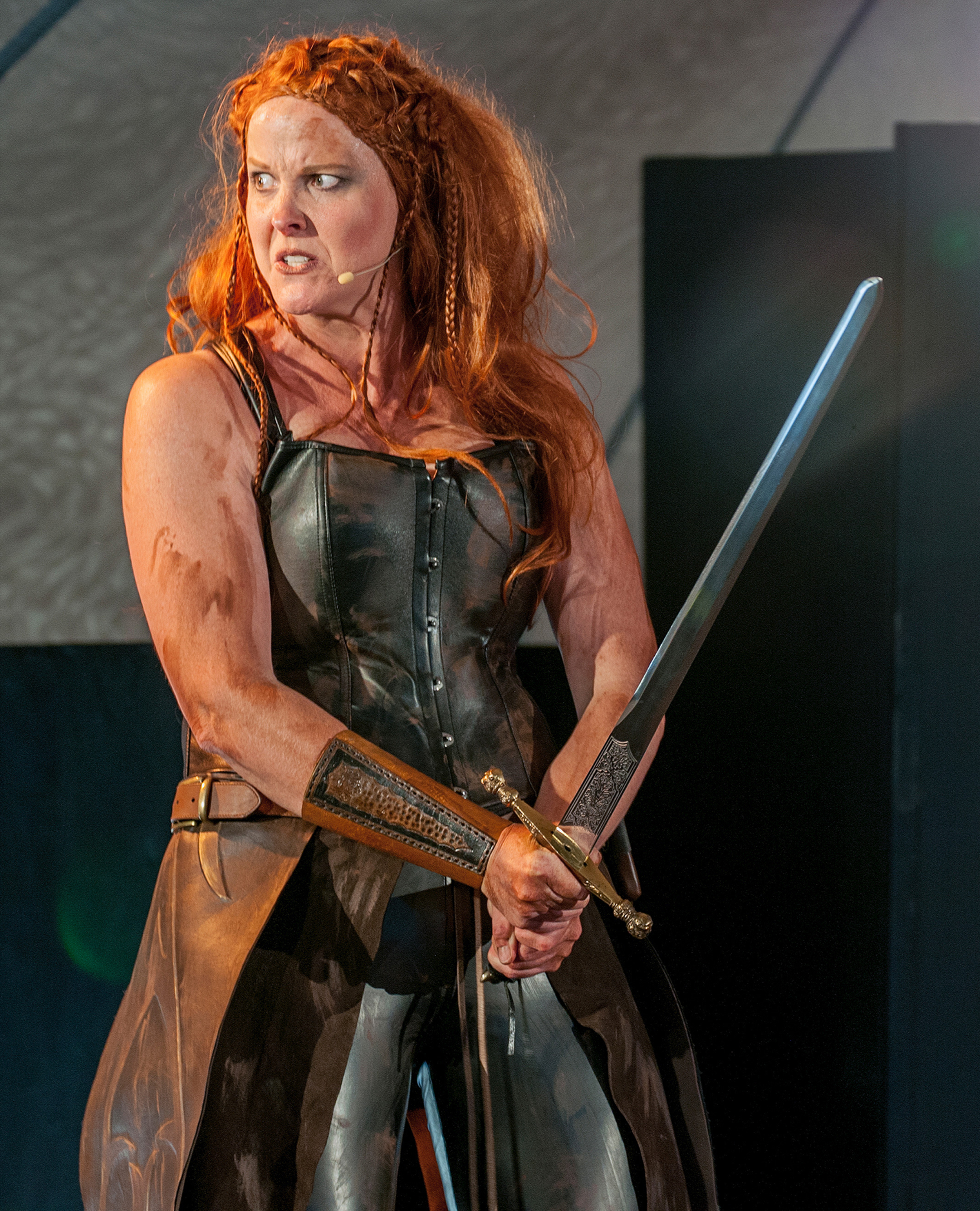 Shield Maiden Play, Female Viking Warrior